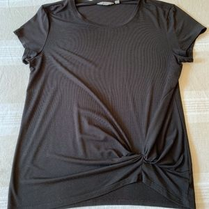 Athleta Cloudlight T with twist detail, Black